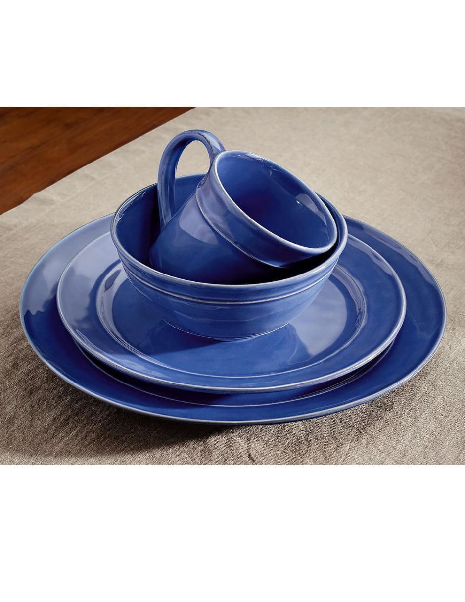 Vajilla Cambria Azul
